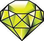 Precious Gem,Jewelry,Gemstone,Mineral,Decoration,Treasure,Three Dimensional,Crystal,Isometric,Lime,Stone,Peridot,Gold Colored,Yellow,Green Color,Shiny