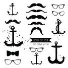 Hipster,Young Adult,Anchor,Nerd,Eyeglasses,Ink,Remote,Male,Ilustration,Sea,Design Element,Bow,Youth Culture,Collection,Stained,Portrait,Wood Stain,Fashion,Retro Revival,Backgrounds,Funky,Vector,sir,Senior Adult,Style,Men,Grunge,Silhouette,Sunglasses,Splattered,Tie,Curly Hair,Mustache,Elegance,Old-fashioned,Modern,Spray,mister,Isolated,Old,Black Color,Pattern,Set,People,Bow,Human Face,Humor