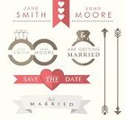 Wedding Ring,Just Married,Newlywed,Wedding Ceremony,Ring,Wedding Reception,Civil Partnership,Banner,Ribbon,Nameplate,Name Tag,Ilustration,Vector,Badge,Icon Set,Coat Of Arms,Sign,Information Sign,Wedding,Heart Shape,Stationary,Label,Arrow Symbol
