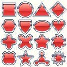 Star - Space,Red,Chrome,Shiny,Badge,Ellipse,Metal,Triangle,Symbol,Interface Icons,Heart Shape,Shield,Sign,Metallic,Diamond Shaped,Shape,Plastic,Hexagon,Insignia,Computer Graphic,Geometric Shape,Icon Set,Star Shape,Cross Shape,Square Shape,1940-1980 Retro-Styled Imagery,Reflection,Atom,Retro Revival,Ilustration,Vector,Silver Colored,Ornate,Color Image,Data,White Background,No People,Decoration,Transportation,Star Burst,Sports And Fitness,Message