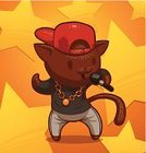 Rap,Domestic Cat,Catwalk - Stage,Popular Music Concert,Scale,Child,Singing,Dancing,Happiness,Computer Graphic,Gold,Cheerful,Poster,Comedian,Musical Theater,Cute,Star Shape,Microphone,Vector,Karaoke,Male Animal,Drawing - Activity,Hitting,Rock and Roll,Hip Hop,Billboard Posting,Pop Musician,Animated Cartoon,Celebrities,Alex Song,Dance And Electronic,Painted Image,Humor,Music,Laughing,Performance,Standing,Black Color,Art,Cartoon,Musician,Recreational Pursuit,Comic Book,Entertainment,Fun,Gold Colored,Remote,Peter Singer,Stuart Young,Single Object,Men,Ilustration,Isolated,Animal,Adulation,Drawing - Art Product,Caricature,Artist