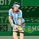 Tennis,Wimbledon,Sport,Cartoon,Playing,Computer Graphic,Ilustration,Vector,Racket,People,Sports Event,Men,Australian Tennis Open,Ball,Racket Sport,Exercising,Set,Athlete,ATP,Serving,Male,Tennis Racket,Leisure Activity,Muscular Build,Fun,One Person,Tennis Ball,Action,Professional Sport,Expertise,US Open,Open,Competitive Sport,All England Lawn Tennis And Croquet Club,Painted Image,Recreational Pursuit,Competition,French Tennis Open,Skill,Healthy Lifestyle
