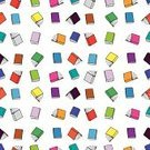 Book,Seamless,Backgrounds,Pattern,Page,Education,Closed,Open,Wallpaper Pattern,Multi Colored,Large Group of Objects,Ilustration,Cartoon,Repetition