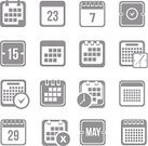 Set,Day,Symbol,Page,Calendar,Shape,Computer Graphic,Business,Planning,Icon Set,Day Calendar,Isolated,Abstract,Event,Sign,Ilustration,Design Element,Calendar Icon,Calender Icon,Ring Binder,Vector,Reminder,Group of Objects,Calendar Date,Month
