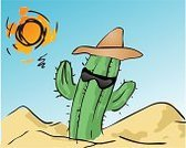 Cactus,Sun,Broiling,Desert,1940-1980 Retro-Styled Imagery,Retro Revival,Vector,Computer Graphic,Heat - Temperature,Hand-drawn,Clip Art,Sand,Dry,Sketch,Arid Climate,Landscape,Nature,Plants,Plant,Sunglasses,Nature,Hat,Ilustration,Cool,Modern,Outdoors,Digitally Generated Image
