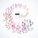 Musical Note,Sheet Music,Music,Flowing,Entertainment,Backgrounds,Multi Colored,Symbol,Creativity,Treble Clef,Computer Graphic,Illustrations And Vector Art,Treble,Design Element,Clip Art,Key,Blue,Red,Elegance,Orange Color,Key Signature,Ilustration,Swirl,Abstract,Vector,Vibrant Color,Design,Sign,Pattern,Style