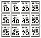 Speed Limit Sign,Number 40,Sign,Number 25,Number 20,Number 50,70s,Number 10,Number,Highway,Number 45,Time,Forbidden,Control,Number 15,Symbol,Slow,Warning Sign,Speed,Thoroughfare,No People,Vector,Number 5,Travel,Metal,USA,White,Law,Black Color,Transportation,Road,Data,Number 75,Cut Out,Number 65,Number 55,Number 30,Driving