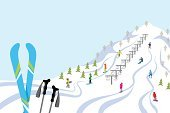 Skiing,Ski,Ski Slope,Ski Resort,Ski Pole,Ski Lift,Ilustration,Winter Sport,Day,Christmas,Winter,群衆,Travel Destinations,Tourist Resort,Scenics,Group Of People,Full Length,Fun,Nature,Gondola,Travel Locations,Copy Space,Recreational Pursuit,Vector,Season,Lifestyles,Landscape,行楽,Snowcapped,Outdoors,ski area,Vacations,Outdoor Pursuit,Cold - Termperature,Clear Sky,Sport,Leisure Activity,Travel,Snowboarding
