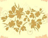 Autumn,Scroll Shape,Pattern,Color Image,Ornate,Branch,Blob,Abstract,Computer Graphic,Horizontal,Design,Plant,Swirl,No People,Leaf,Decoration,Vector,Creativity,Nature,Plants,Curve,Curled Up,Floral Pattern,Ilustration,Art,Backgrounds