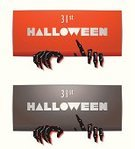 Cards,Joy,Humor,Backgrounds,Placard,Horror,Spirituality,Fun,Red,Design Element,Dead,Halloween,Sign,Human Hand,Night,Label,Cemetery,Decoration,Dead Person,Design,Party - Social Event,October,Costume,Cultures,Paranormal,Ilustration,Resurrection,Zombie,Heckling,Holiday,Ticket