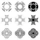 Celtic Style,Tied Knot,Spirituality,Geometric Shape,Celtic Culture,Tribal Art,Celtic Cross,Eternity,Vector,Illustration Technique,Vector Ornaments,Christianity,Illustrations And Vector Art,Isolated-Background Objects,Celtic Knot,Indigenous Culture,Art,Isolated,Art And Craft,Ideas,celt,Decoration,isolated objects,Inspiration,Symbol,Silver Colored,Star Shape,In A Row,Part Of,Imagination,Tattoo,Isolated On White,Concepts And Ideas,Religion,Harmony,No People,Set,triquetra,Ilustration,Small Group of Objects,Creativity,Concepts,Design Element,Collection,knotwork,Abstract,Design,Black And White,Cross Shape,Pattern,Irish Culture,Celtic Knotwork