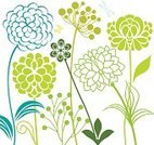 Dragonfly,Meadow,Flower,Plant,Butterfly - Insect,Nature,Dahlia,Floral Pattern,Flower Bed,Green Color