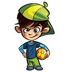 Soccer,Child,Little Boys,Cartoon,Ball,Mischief,Mascot,Hat,Anger,Yellow,Athleticism,Leisure Activity,Football,Athlete,Cute,Furious,Isolated On White,Ilustration,Small,Image,Green Color,Team Sport,Cool,Happiness,Cap,Playful,Smiling,Looking,Orange Color,Blue,Smiley Face,Clip Art,Isolated,Cheerful,Sport,Play