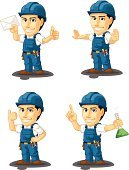 Engineer,Engineering,Thumbs Up,Men,Service,Customized,Service Occupation,Repairing,Male,Industry,Uniform,Confidence,Business,customizable,Manual Worker,Work Tool,Equipment,Repairman,Maintenance Engineer,Plumber,Professional Occupation,Electrician,Occupation,Standing,Mechanic,Cartoon,Isolated,Stop Gesture,Technician,Engine,Holding,Work Helmet,Blue,Screwdriver,Construction Industry,Letter,Machinery,Pointing,Mascot,Single Object,Tool Belt,Vector,One Finger,Smiling,Foreman,Electronics Industry
