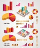Built Structure,Infographic,Symbol,City,Sign,Data,Digitally Generated Image,Set,Diagram,Vector,Growth,Part Of
