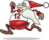 Running,Santa Claus,Track Event,Urgency,Holiday,Sports Race,Costume,Fun,Sprinting,Computer Graphic,Greeting Card,Design,Cartoon,Winter,Humor,Cap,Speed,Christmas,happy holidays,December,Drawing - Art Product,Beard,Mascot,Vector,Characters,Ilustration
