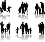 Care,People,Concepts & Topics,Concepts,Care,Togetherness,Connection,Lifestyles,Nature,Outdoors,Walking,Parent,Father,Mother,Daughter,Son,Family,Playful,Shadow,Silhouette,Meadow,Child,Adult,Illustration,Males,Men,Boys,Females,Women,Vector,Two Parents,Ideas,