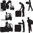Forklift,Silhouette,Manual Worker,Freight Transportation,Pallet,Vector,People,Shipping,Back Lit,Bar Code Reader,Distribution Warehouse,Men,Hardhat,Business,Black Color,Outline,Cartoon,Women,Male,Ilustration,Sketch,Group Of People,Collection,Clip Art,Isolated,Female,White Background,Cut Out,Design Element,Digital Composite,Design,Adult,Large Group of Objects,Digitally Generated Image,Business Backgrounds,Illustrations And Vector Art,Isolated On White,Business