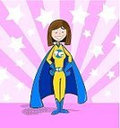Superhero,Heroes,Women,Teenage Girls,Cartoon,Vector,Courage,Cape,Protection,Smiling,Crime,Pink Color,Muscular Build,Protective Workwear,Star Shape,Human Muscle,Strength,Power,Standing,Defending,Happiness,Cheerful,One Person,handcarves,carved letters,aciculum,Concepts And Ideas,Suit,Shielding,Feelings And Emotions,People