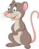Cartoon,Mouse,Cheerful,Happiness,Fur,Small,Animals In The Wild,Opossum,Mammal,Humor,Rodent,Rat,Cute,Marsupial,Animal,Omnivorous,Characters,Mascot,Smiling,Ilustration,Fun