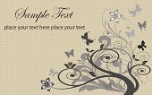 Vintage Color,Butterfly - Insect,Flower,Backgrounds,Vector