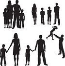 Family,Silhouette,Child,People,Parent,Outline,Back Lit,Vector,Mother,Women,Adult,Offspring,Cartoon,Men,Father,Little Boys,Little Girls,Black Color,Daughter,Adolescence,Large Group of Objects,Female,Sketch,Isolated On White,Son,Male,Group Of People,Cut Out,Isolated,Collection,Ilustration,Childhood,Design,Clip Art,Young Adult,White Background,Digitally Generated Image,Design Element,Sibling,Digital Composite,Lifestyle,Families,Illustrations And Vector Art