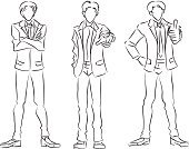 People,Young Adult,Businessman,Pencil Drawing,Men,Sketch,The Human Body,Business Person,Posing,Business,Monochrome,Black And White,Organization,Cartoon,Sign,Ideas,Drawing - Art Product,Silhouette,Abstract,Human Finger,Contour Drawing,Manga Style,Collection,Isolated,Paintings,Gesturing,Computer Graphic,Backgrounds,Strategy,Real People,Comic Book,Male,Human Hand,Ilustration,Image,Lifestyles,Caucasian Ethnicity,Office Interior,White,Symbol,White Collar Worker,Inspiration,Manager,Confidence,Leadership,Concepts,Bossy,Set,Characters,Cute,Foreman,Outline,Allegory Painting,Drawing - Activity,Innovation,Vector,Simplicity,One Person,Facial Expression