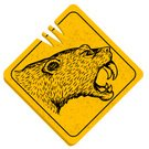 Mountain Lion,Animal,Grunge,Sign,Drawing - Art Product,warned,Warning Sign,Aggression,Vector,Animals In The Wild,Undomesticated Cat