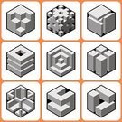 Toy Block,Three Dimensional,Box - Container,Computer Icon,Cube Shape,Facial Expression,Abstract,Collection,Single Object,Interface Icons,Greeting Card,Inspiration,Geometric Shape,Pattern,Decoration,Design,Set,Construction Industry,Ideas,Creativity,Modern,Backgrounds