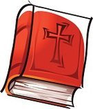 Book,the cross,Bible,Holy Book,Ilustration,Vector