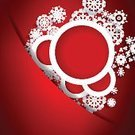 Season,Decoration,Symbol,Christmas,Cultures,Red,Abstract,Greeting,Backgrounds,Sphere,Ilustration