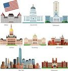 State Capitol Building,New York State,Tallahassee,Harrisburg,New York City,Pennsylvania,Albany - New York State,California,Built Structure,Hartford,u s,Jamestown - California,The Americas,Architecture,American Flag,USA