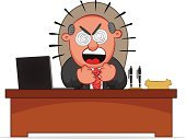 Manager,Furious,Bossy,Men,Balding,Color Image,Cartoon,Occupation,Human Face,White Background,Looking,Computer Graphic,Colors,Business,Bad News,Negative Emotion,Shouting,Tie,Business Relationship,Painted Image,Anger,Communication,Leadership,Concepts,Male,Isolated,One Person,Characters,Vector,Desk,Businessman,Laptop,Humor,Gray Hair,Sitting,Manual Worker,Foreman,Business Person,Emotion,Working,Authority,Gray,Overweight,Fun,Displeased,Screaming,Office Interior,Making Money,Ilustration,Blame,Failure,Wealth,Isolated On White,Clip Art,Drawing - Art Product,Facial Expression,Fist,Suit,Pencil Drawing,Multi Colored