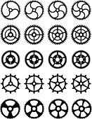 Bicycle Gear,Watch,Gear,Symmetry,Machine Part,Driving,Engineering,Turning,White Background,Gearwheels,Machinery,Engine,Technology,Manufacturing,Group of Objects,Teamwork,gearings,Manufacturing Equipment,watch gears,Isolated,Machine Teeth,Silhouette,Business,Accuracy,Circle,Black Color,Industry,Wheel