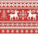 Sweater,Christmas Ornament,Backgrounds,Reindeer,Textile,Effortless,Christmas Tree,Pattern,Season,Design,Snow,Knitting,Winter,Deer,Snowing,Decoration,Christmas,Seamless,Snowflake,Vector,Embroidery,Ilustration,Christmas Decoration,Sewing