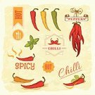 Chili Pepper,Pepper - Vegetable,Mexican Culture,Pepper,Heat - Temperature,Spice,Plant,Label,Food And Drink,Pattern,Vector,Merchandise,Food,Healthy Eating,Design,Thorn,Nature,Packing,Freshness,Agriculture,Vegetable,Backgrounds,Ingredient,Ilustration,Insignia,Raw Food,Single Object