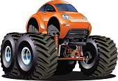 Tire,Car,Cartoon,Competition,Customized,4x4,Fun,Wheel,Bumper,Driving,Large,Activity,Off,Mode of Transport,Pick-up Truck,Transportation,Cool,Vector,Motorsport,Design,Land Vehicle,Isolated,Rubber,Motor Vehicle,Rod,Ilustration,Heavy,Extreme Sports,Monster