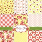 Messy,Elegance,Backgrounds,Scrapbook,Textile,Pattern,Quilt,Flower Head,Fashion,English Rose,Blue,Polka Dot,England,scrap-booking,shabby chic,Romance,Fragility,Yellow,Pink Color,Love,Greeting,Doodle,Frame,Photo Album