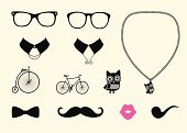 Characters,Personal Accessory,Kissing,Mustache,Hipster,Old,Lifestyles,Cultures,Symbol,Computer Icon,Bicycle,Fashion,Collar,Design,Little Boys,Mask,Getting Dressed,Eyeglasses,Old-fashioned,Isolated,Women,Smiling,Vector,Set,Modern,Birthday,Bird,Decoration,Tie,Gold Chain,Victorian Style,Human Lips,Fun,Computer Graphic,Funky,1940-1980 Retro-Styled Imagery,Owl,Sunglasses,Doodle,Bow,Style,Costume,Ilustration,Pendant,Pipe