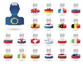 Flag,Luxembourg - Benelux,Portugal,Remote,Greece,Germany,Ilustration,European Union Flag,Liechtenstein,France,Collection,nations,Poland,Bulgaria,Lithuania,Isolated,Russia,Concepts,Icon Set,Republic of Ireland,Country - Geographic Area,Italy,Switzerland,Netherlands,Spain,Croatia,Latvia,Slovenia,Belgium,UK,Set,Ideas,People,state,Europe,Symbol,Colors