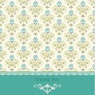 Thank You,Ornate,Silk,Elegance,Pattern,Design,Scroll Shape,Classic,Backgrounds,Greeting Card,Vector,Retro Revival,Holiday,Floral Pattern,Swirl,Copy Space,Greeting