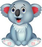 Koala,Mascot,Cartoon,Humor,Happiness,Fun,Looking At Camera,Fur,Doll,Mammal,Bear,Embracing,Cheerful,Cute,Characters,Animals In The Wild,Animal,Toy,Posing,Vector,Smiling,Ilustration,Young Animal,Sitting