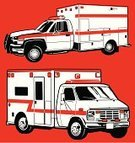 Ambulance,Emergency Services,Urgency,Truck,Land Vehicle,Van - Vehicle,Rescue,Pick-up Truck,Vector,Healthcare And Medicine,Ilustration,Accident,Siren,Line Art,Speed,Urgent,Medical,Medicine And Science,Illustrations And Vector Art,Red Light