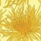 Chrysanthemum,Ornate,Art,Backgrounds,Celebration,Beauty,Painted Image,Sunny,template,Design,Beautiful,Heat - Temperature,Multi Colored,Springtime,hand drawn,Seamless,Flourish,Summer,Flower,Yellow,Pattern,Nature,Bright