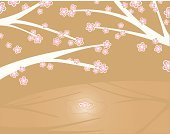 Cherry Blossom,Blossom,Bud,Vector,Cheerful,Ilustration,Backgrounds,Nature,Flower,Computer Graphic,Funky,Time,pink flower,Nature,Flowers,Concepts And Ideas,horisontal,Season,Springtime