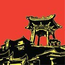Asian Ethnicity,Temple - Building,Japanese Culture,Pagoda,East Asian Culture,Japan,Vector,China - East Asia,Built Structure,Asia,Architecture,Chinese Culture,Buddhism,Ilustration,Grunge,Roof,Building Exterior,East Asia,People,handcarves,Illustrations And Vector Art