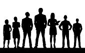 People,Teamwork,Team,Silhouette,Unrecognizable Person,Business,Crowd,Business Person,Group Of People,White Background,Monochrome,Women,Standing,Businessman,Men,Leadership,Individuality,Adult,Characters,Foreman,Friendship,One Person,Isolated On White,Young Adult,Large Group Of People,Isolated,Manager,Standing Out From The Crowd,Black Color,Real People