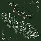 Single Flower,Flower,Floral Pattern,Vector,Backgrounds,Abstract,Green Color,Springtime,Ornate,floral ornament,Dark,Branch,Drawing - Art Product,Doodle,Plant,Ilustration,Stem,Design Element,Leaf,Bush,Curve,Silhouette,Sketch,Design,Curled Up,Creativity,Art,Elegance,Growth,Frame,Inspiration,Pencil Drawing,hand drawn,Illustrations And Vector Art,Part Of,Angle,Flowers,Nature