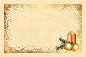 Frame,Christmas,Dirty,Old-fashioned,New,Glass - Material,Textured,Backgrounds,Beige,Fir Tree,Branch,Sphere,Light - Natural Phenomenon,2014,Wishing,Year,Retro Revival,Vector,Decoration,Manuscript,Holiday,Snow,Candlelight,Glowing,Gold Colored,Brown,Paper,Shiny,Old,Humor,Burning,Invitation,Christmas Ornament,Greeting Card,Empty,Antique,Ilustration,Ornate,Lighting Equipment,Clip Art,Candle,Papyrus Paper,Tree,Parchment,Snowflake,Wallpaper Pattern