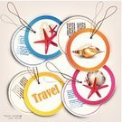 Tourist Resort,Badge,Coupon,Speech,Invitation,Vector,www,Bookmark,Symbol,TAB Cola,Total Petrol,Ilustration,Sea,Backgrounds,Summer,Season,template,Starfish,Vacations,Label,Multi Colored,Business,Ticket